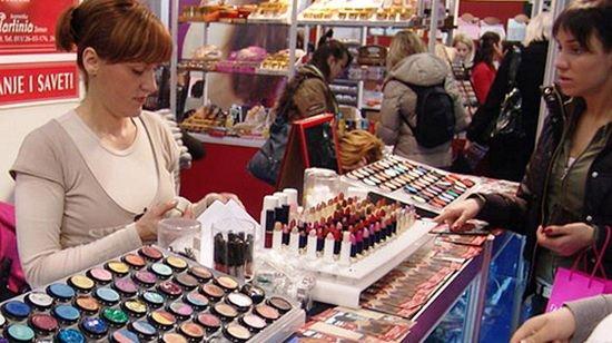 Российский парфюмерно-косметический рынок растет