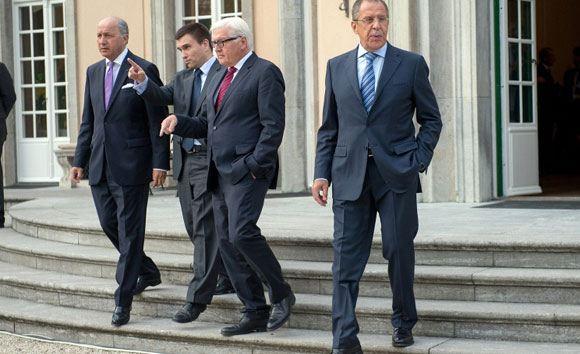 В столице Германии завершились четырехсторонние переговоры по ситуации на Украине