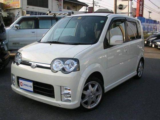 Daihatsu Move входит в рейтинг маленьких автомобилей