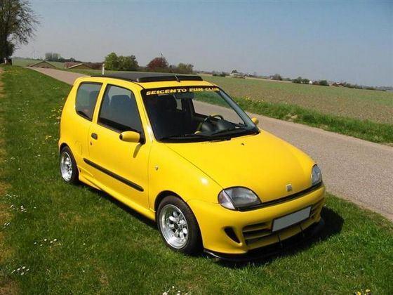 Fiat Seicento классический маленький итальянский автомобиль