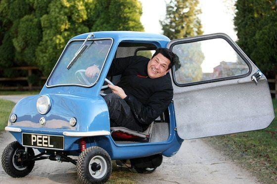 Peel Р50 - самый маленький автомобиль в мире