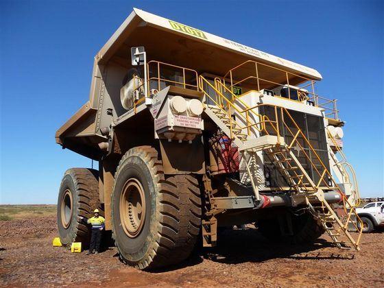 Bucyrus MT6300AC один из самых мощных грузовиков