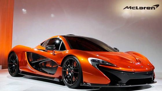 Hybrid McLaren P1 is in the TOP of the most beautiful cars