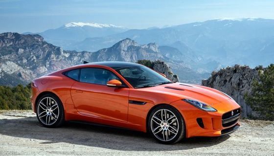 Jaguar F-Type recognized as the most beautiful car in the world