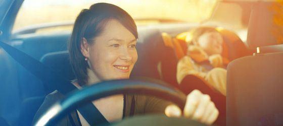 Самое безопасное место в автомобиле - позади водителя