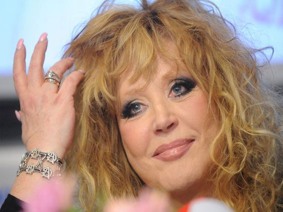 In the photo: Alla Pugacheva