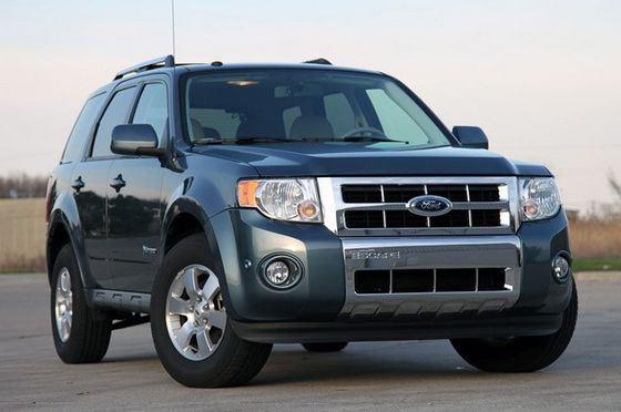 Ford Escape Hybrid самый экономичный внедорожник с бензиновым двигателем