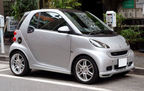 Mercedes Smart Fortwo Coupe 0.8 CDI входит в ТОП самых экономичных автомобилей