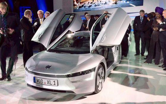 Volkswagen XL1 признан самым экономичным автомобилем в мире