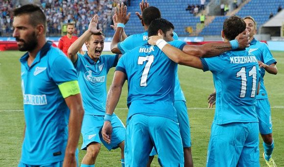«Зенит» обыграл «Стандард» в первом матче плей-офф квалификации Лиги чемпионов