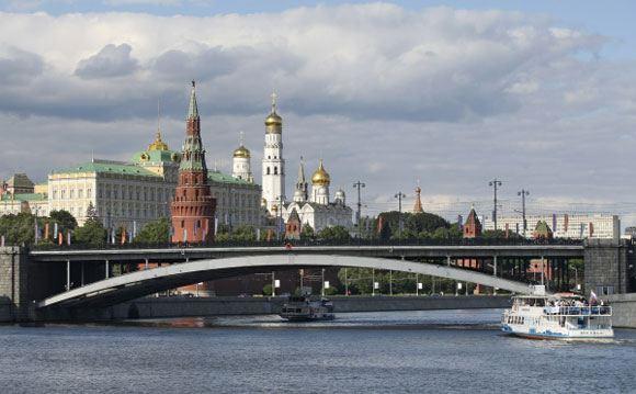 На Большом Каменном мосту пытались вывесить флаг Украины