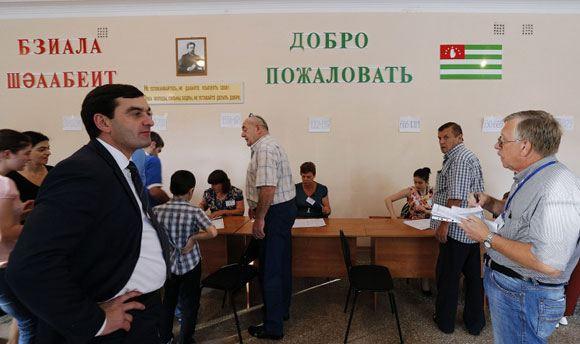 В Абхазии заканчиваются президентские выборы, явка – 56 процентов
