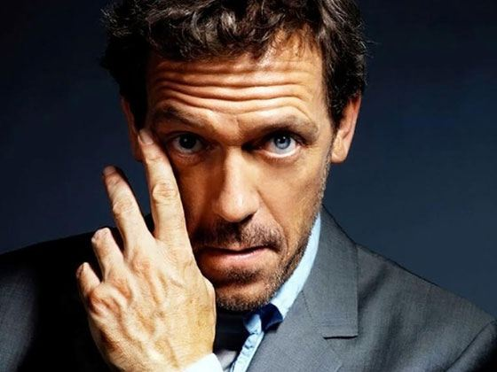 Pictured: Hugh Laurie