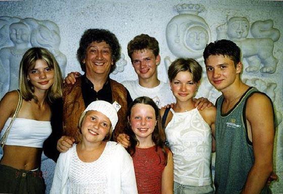 Сергей Лазарев в группе «Непоседы»