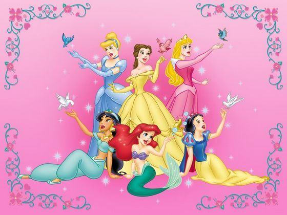 Знаменитые принцессы Диснея