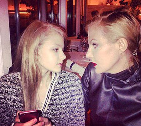 Рената Литвинова приезжает к дочери во Францию на выходные
