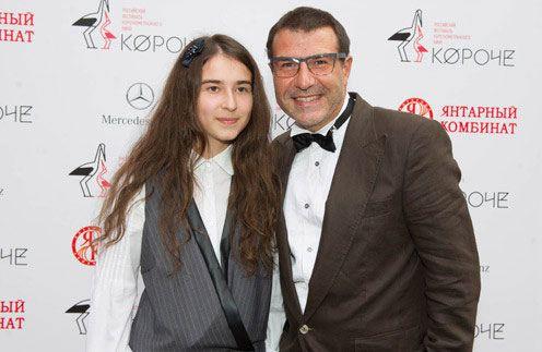 Гришковец взял дочь на кинофестиваль «Короче»