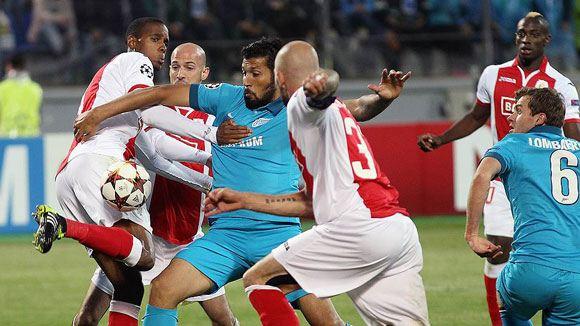 «Зенит» обыграл «Стандард» в ответном матче