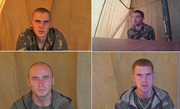Задержанные на территории Украины российские военнослужащие доставлены в киевский изолятор