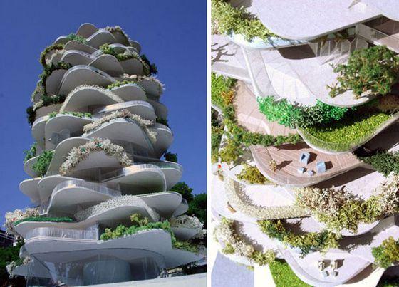 «Зелёный» дом-кактус придумали голландцы
