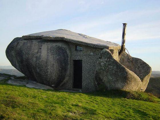 «Дом-камень» входит в рейтинг самых удивительных домов