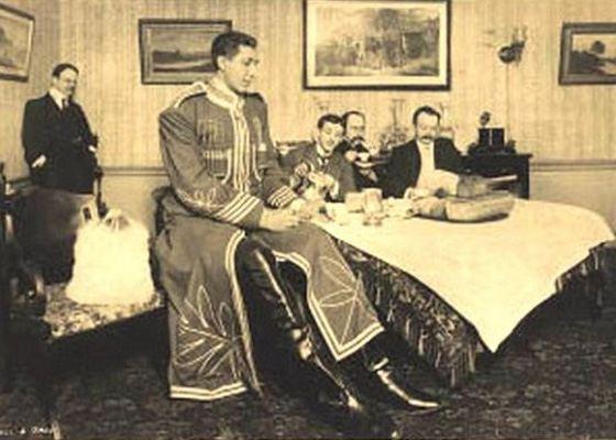 Федор Махнов - самый высокий человек