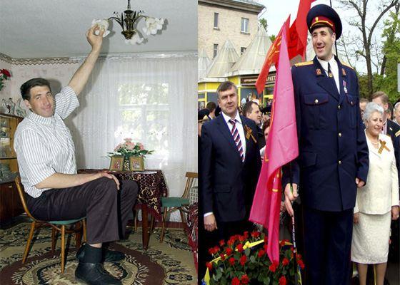 Рост Леонида Стадника поражает