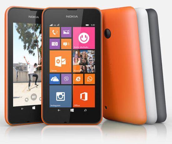 В России стартуют продажи Nоkia Lumia 530