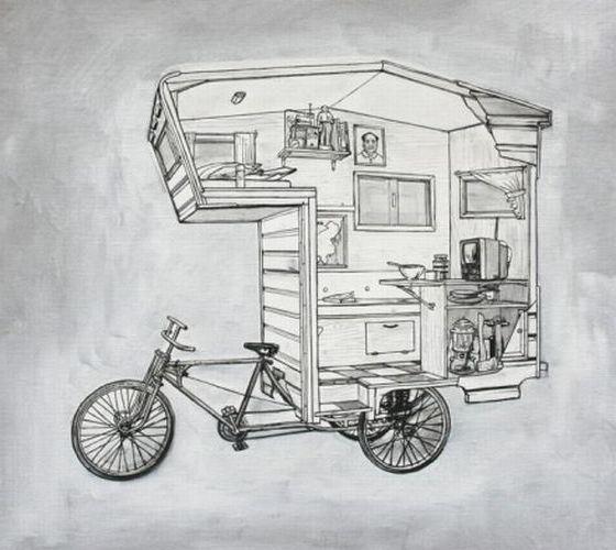 Конструкция самого дешевого дома на колесах