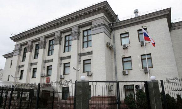 В Киеве задержали сотрудников российского посольства