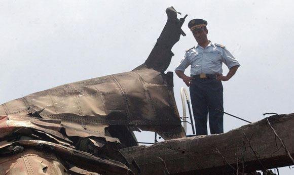 Украинский Ан-12 разбился в Алжире: семь человек погибли