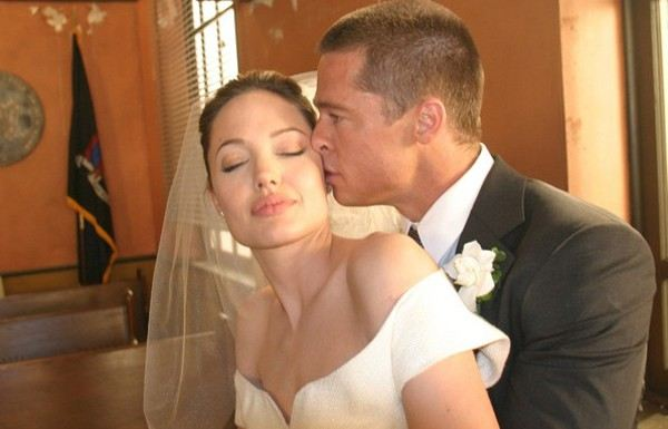 На фото: Бред Питт и Анджелина Джоли