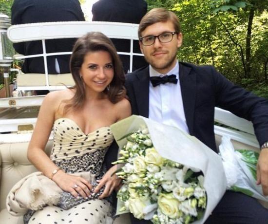 Галина Юдашкина и Петр Максаков узаконили отношения