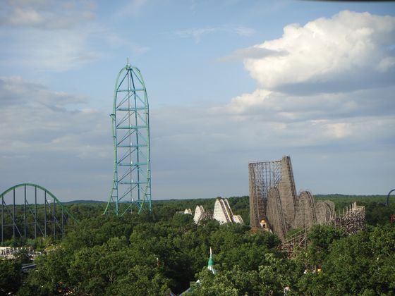 Six Flags Great Adventure, Kingda Ka - ����� ������� ������������ �����