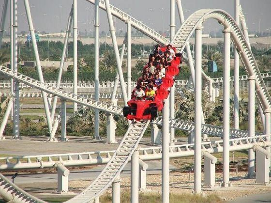 Ferrari World, Formula Rossa - самые быстрые американские горки