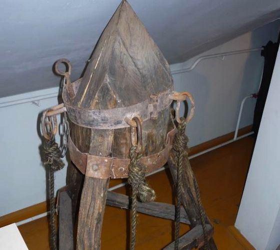 Орудие пыток - «Колыбель Иуды»