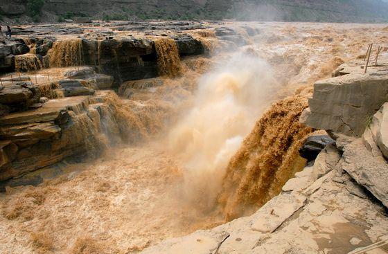 Наводнения на Хуанхэ бывают очень часто