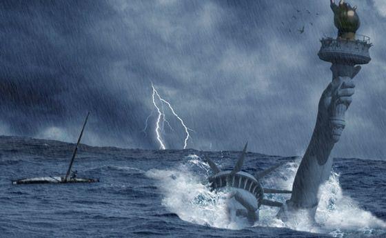 Некоторые ожидают, что конец света будет связан с великим наводнением