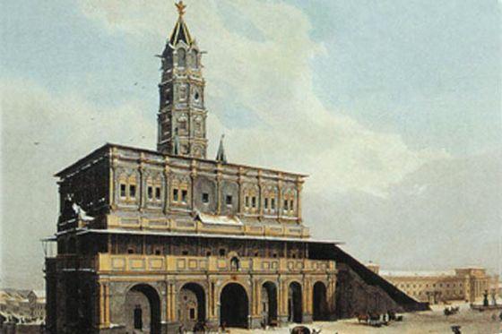 Сухарева башня - место, где жили старинные духи древней Москвы