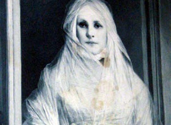 Белая дама - самое известное привидение в мире