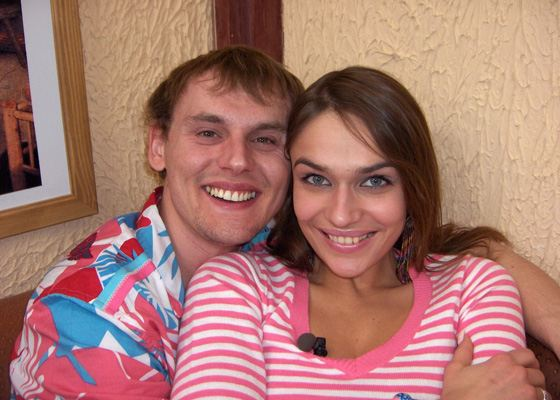 Alena Vodonaeva and Stepan Menshikov