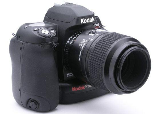 Дорогая полупрофессиональная модель Kodak DCS Pro SLR/c