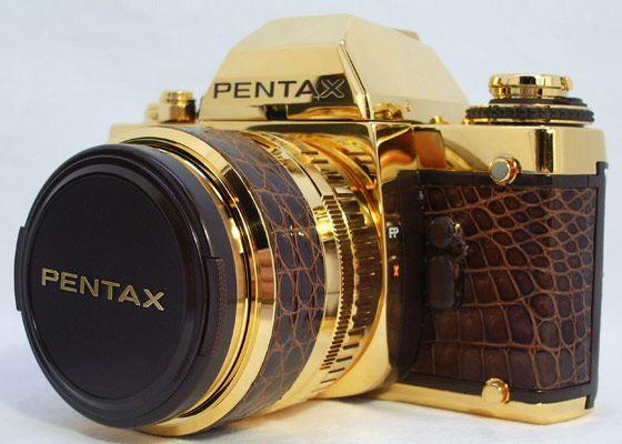 Золотой дорогой фотоаппарат от Pentax