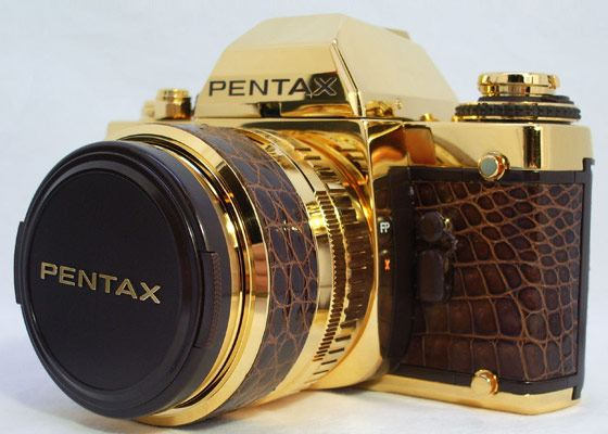 Pentax Gold Expensive Camera