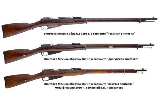 Первый автомат - винтовка Мосина