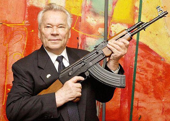 Изобретатель самого лучшего автомата в мире - оружейник Михаил Калашников