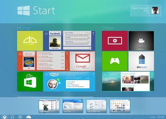 Занавес Windows 9 Threshold слегка приоткрыт