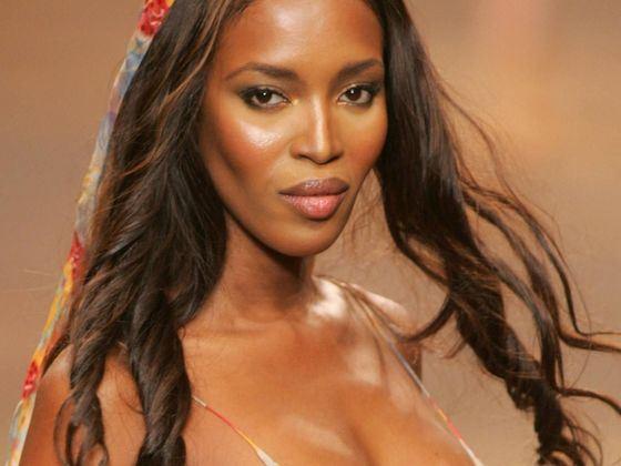 Наоми Кэмпбелл одна из самых высокооплачиваемых темнокожих моделей