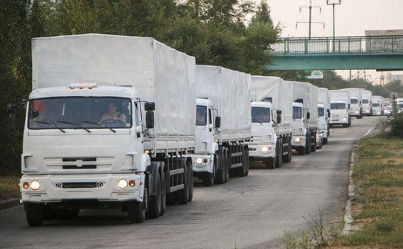 СНБО назвал ввоз гуманитарной помощи из России незаконным