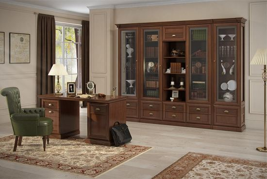 Элитная мебель для библиотеки создаст условия для плодотворного труда
